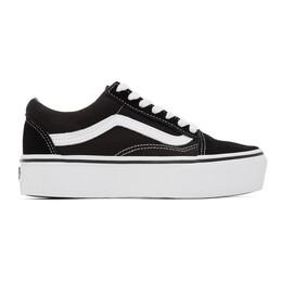 Vans Black Old Skool Platform Sneakers VN0A3B3UY28