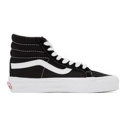 Vans Black OG Sk8-Hi LX Sneakers VN0A4BVBOIU