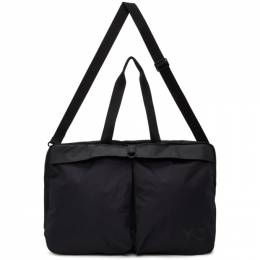 Y-3 Black Weekender Duffle Bag FQ6992