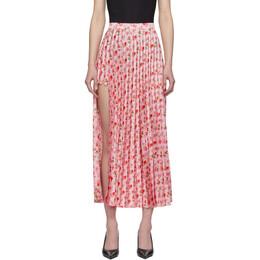 Vetements Pink Plisse Skirt SS20SK288