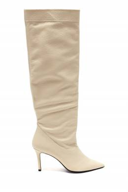 Молочно-белые кожаные сапоги Barbara Bui 1950184333