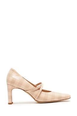 Молочно-белые клетчатые туфли Drome 1983184338