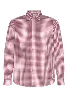 Клетчатая рубашка с монограммами Square G Gucci 470184352