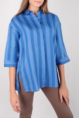 Синяя блуза в полоску Escada Sport 2819184494