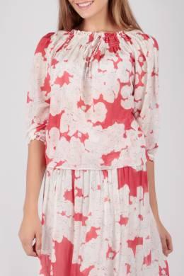 Свободная блуза с цветочным принтом Escada Sport 2819184473