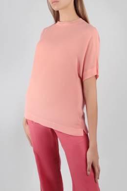 Блуза с отделкой в рубчик Escada Sport 2819184476