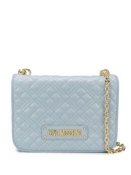 Love Moschino стеганая сумка на плечо с логотипом JC4000PP1ALA0UNI