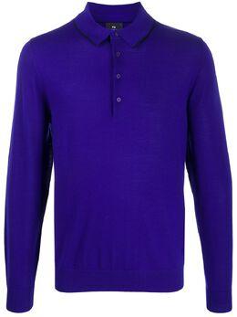 Ps by Paul Smith рубашка-поло с длинными рукавами M2R692TA20814