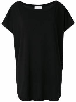 Faith Connexion оверсайз-футболка с вырезом-лодочка X3763J00009