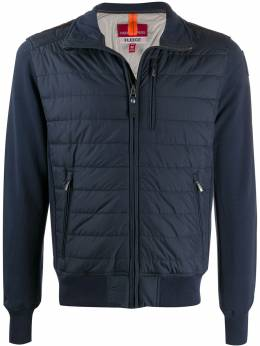 Parajumpers contrast sleeve padded jacket PMFLEFP02