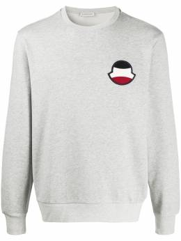 Moncler logo patch sweatshirt 8G708008098U