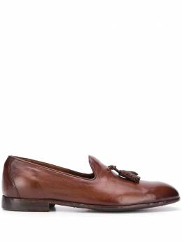 Officine Creative tassel detail loafers OCULEMI002IGN31D202