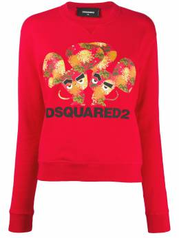 Dsquared2 mouse-print crew-neck sweatshirt S75GU0281S25042