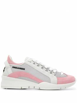 Dsquared2 leather-panel low top trainers SNW050508102683