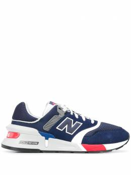New Balance logo patch low top sneakers MS997