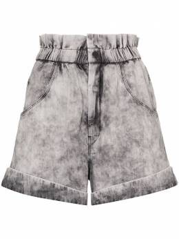 Isabel Marant Etoile acid-wash denim shorts SH031420P022E
