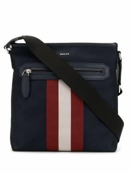 Bally сумка-мессенджер с контрастными полосками 6226309