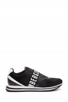 Черные комбинированные кроссовки Bikkembergs 1487184553