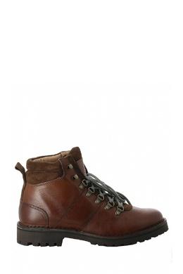 Коричневые ботинки в треккинговом стиле Eleventy 2014184666