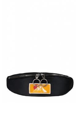 Черная сумка из текстиля Off-White 2202184543