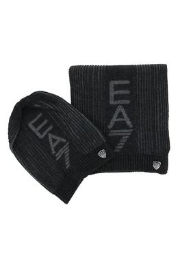 Комплект из шапки и шарфа Ea7 2944184720