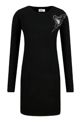 Черное платье с сердцем Liu Jo 1776184518