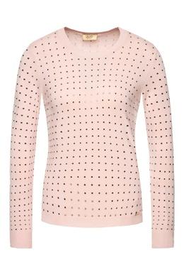 Розовый джемпер с заклепками Liu Jo 1776184520