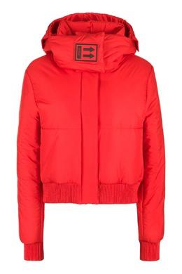 Короткая красная куртка Off-White 2202184526