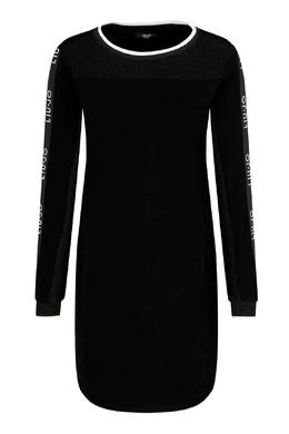 Черное платье с логотипами Liu Jo 1776184525