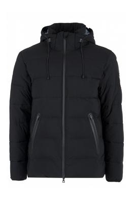 Стеганая черная куртка на молнии Ea7 2944184674