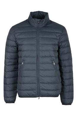 Стеганая синяя куртка Ea7 2944184679