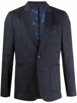 Ps by Paul Smith leaf embroidered tailored blazer M2R1794A20885