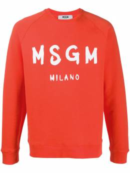 MSGM logo printed sweatshirt 2840MM104207099