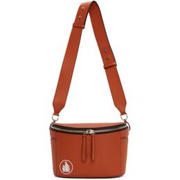 Lanvin Brown Cooler Bag LW-BGTR00-SILK-P20