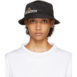 Marc Jacobs Black Logo Bucket Hat V9000001