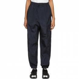Y-3 Navy Classic Shell Lounge Pants FN3415