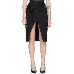 Off-White Black Logo Wrap Skirt OWCC084R205150681000