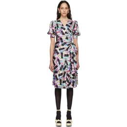 Marc Jacobs Multicolor The Wrap Dress V5000018