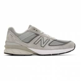 New Balance Grey US Made 990v5 Sneakers M990GL5