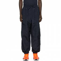 Y-3 Navy Shell Track Pants FN3415
