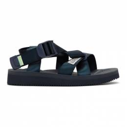 Suicoke Navy Chin2-CAD Sandals OG-023-2Cab/ CHIN2-Ca