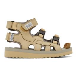 Suicoke Beige BOAK-V Sandals OG-086V / BOAK-V