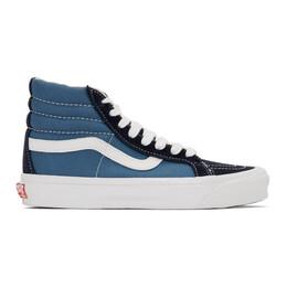 Vans Navy OG SK8 Skool-Hi LX Sneakers VN0A4BVB5OC