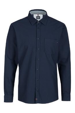 Темно-синяя рубашка с карманом Strellson 585184833