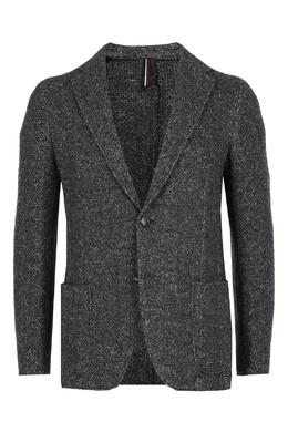 Однобортный пиджак из серой шерсти Strellson 585184869
