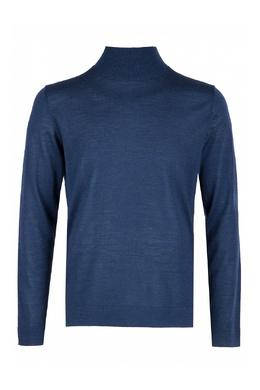 Синяя водолазка из шерсти Strellson 585184868