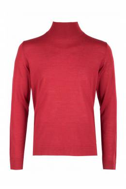 Красная водолазка из шерсти Strellson 585184863