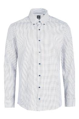Белая рубашка с мелким принтом Strellson 585184826