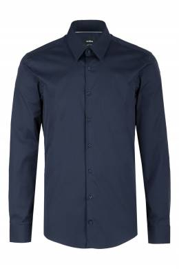 Синяя рубашка приталенного кроя Strellson 585184825