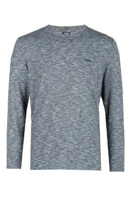 Серый джемпер с вышитым логотипом Strellson 585184850